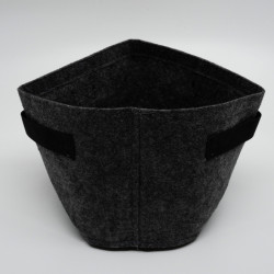 Storage bag in felt, Outdoor Textile Pot