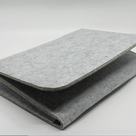 Storage bag, laptop bag in felt material for bedroom.