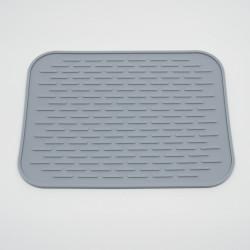 Rubber mat for kitchen desk