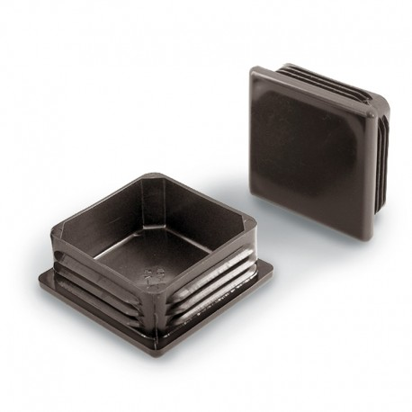 Chair Leg Caps, Inside Squared in Plastic in Multiple Colors