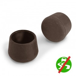 Non Slip Chair Leg Caps in Rubber