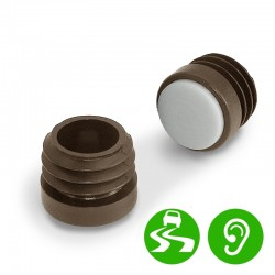 Chair Leg Caps, Inside Furniture Glides, Round Shape