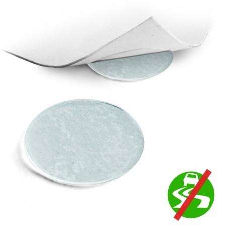 Bumper Pads for Furniture, Self Adhesive Silicone Slim Pads