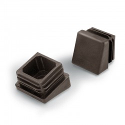 Chair Leg Caps, Tilted Inside Furniture Pads, Square Shape